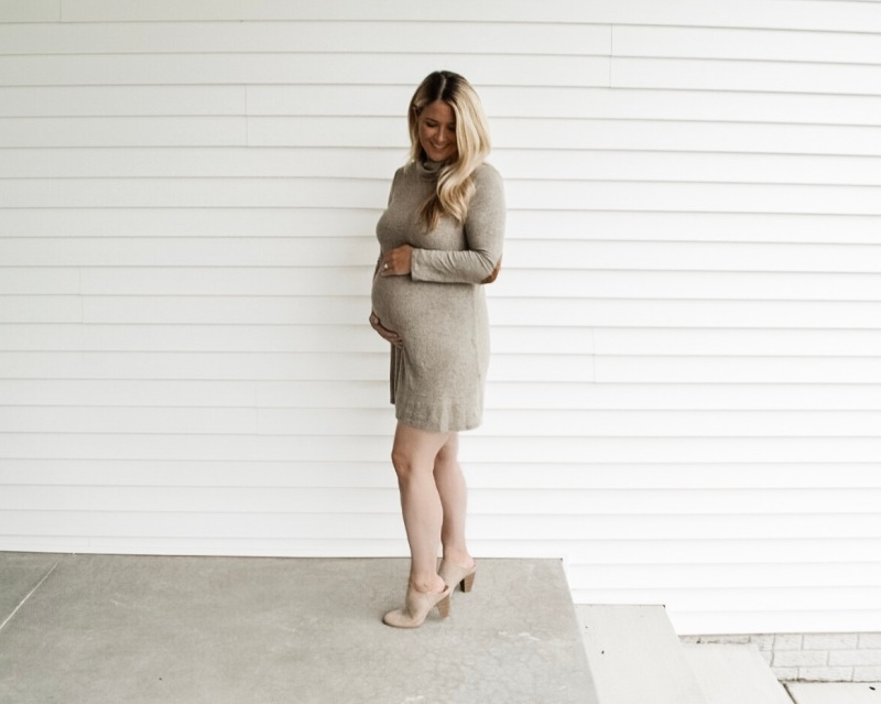 Blonde Style Blog Olive Cowl Neck PinkBlush Giveaway 4