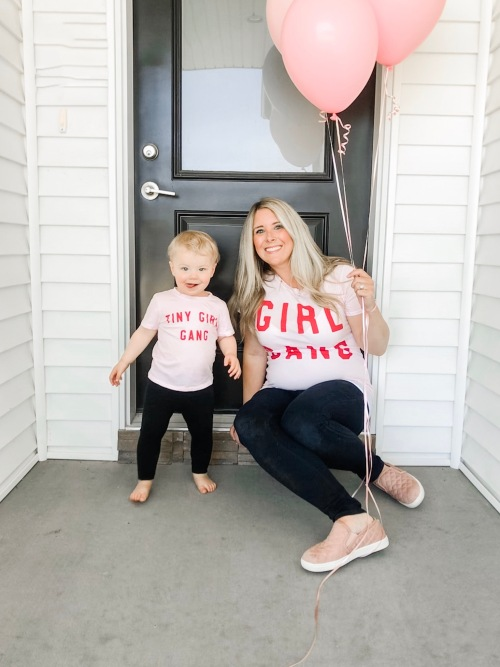 adding to our tiny girl gang iowa blogger 1
