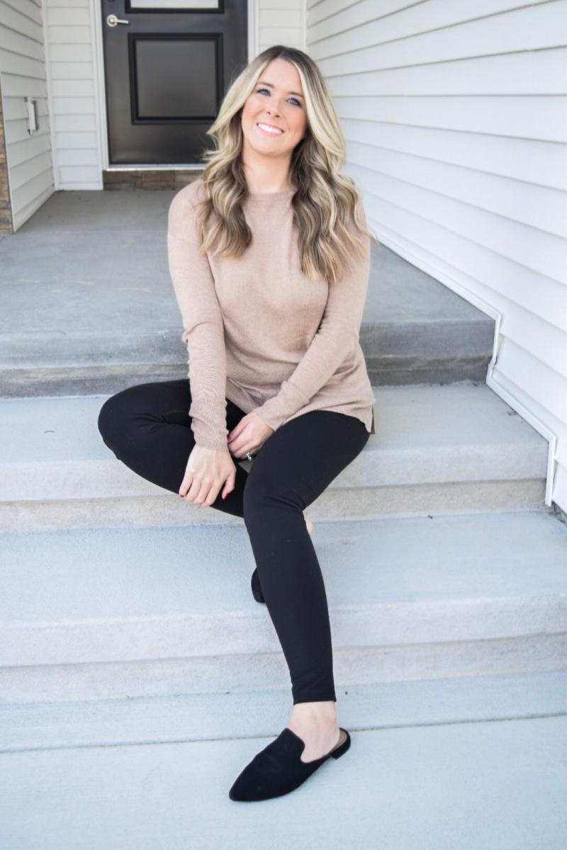 blonde style blog sweater season fall style fashion 1