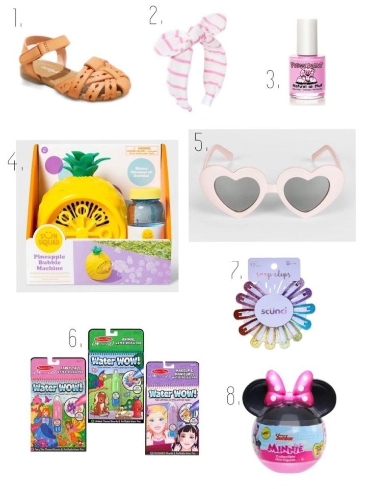 Toddler Easter basket gift ideas blonde style blog